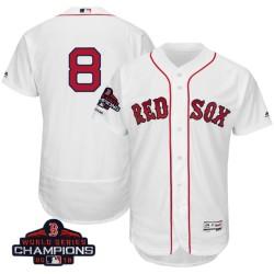 e4f0dc5f6bd Boston Red Sox Carl Yastrzemski Official White Authentic Men s Majestic  Flex Base Home Collection 2018 World