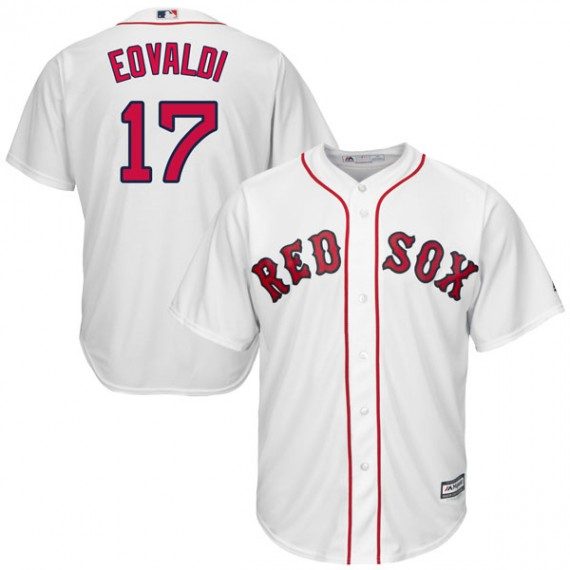 buy online a0ed2 cbf71 Boston Red Sox Nathan Eovaldi Official White Replica Men's Majestic Cool  Base Home Player MLB Jersey S,M,L,XL,XXL,XXXL,XXXXL